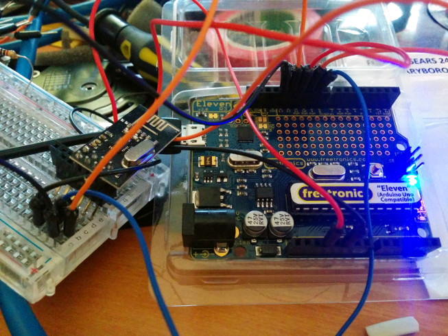 Receiving Arduino Uno